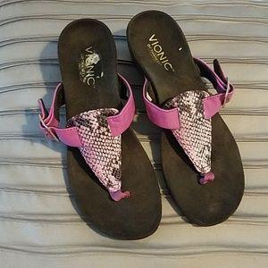 Vionic wedge sandal